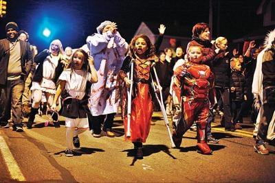 Pittsfield Halloween parade