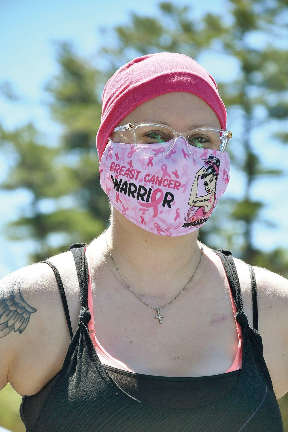 A pink-clad warrior: Running serves as rallying cry for Flaherty amid terminal cancer diagnosis
