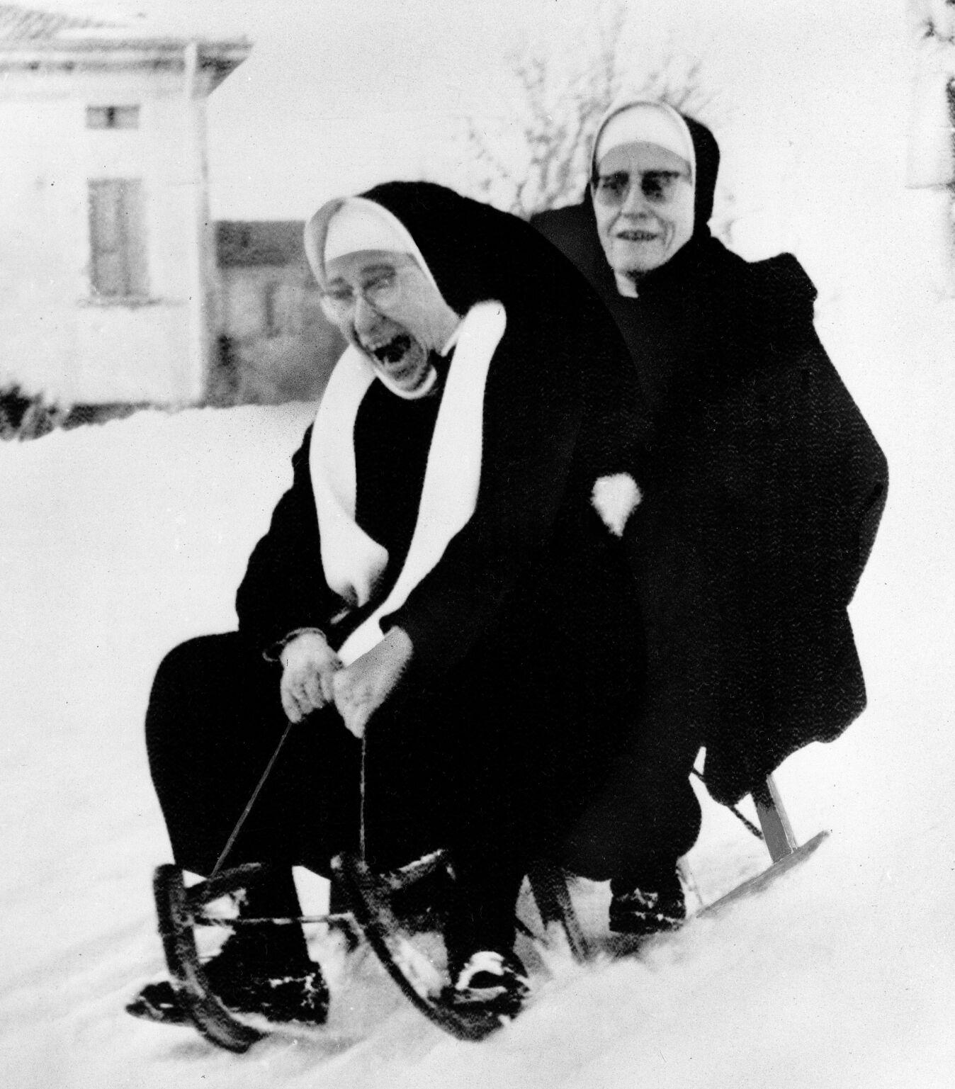 Nuns At Play 1971