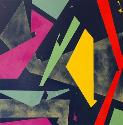 Take 5: Hideyo Okamura approaches abstract painting like a musician