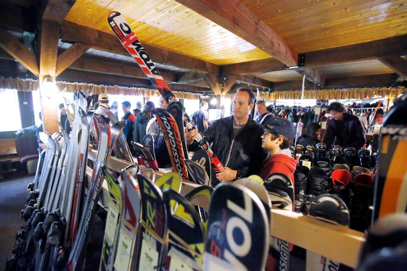 Bousquet's annual ski sale draws bargain-hunters (copy)