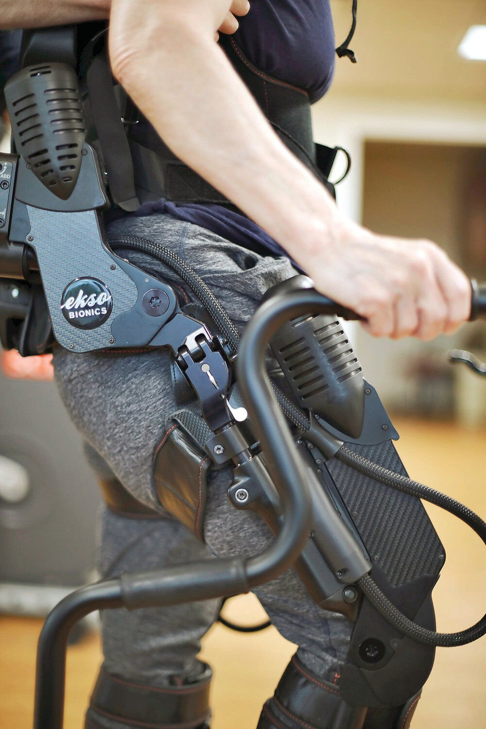 Robotic exoskeleton upgrades physical therapy, patient outlooks at BMC