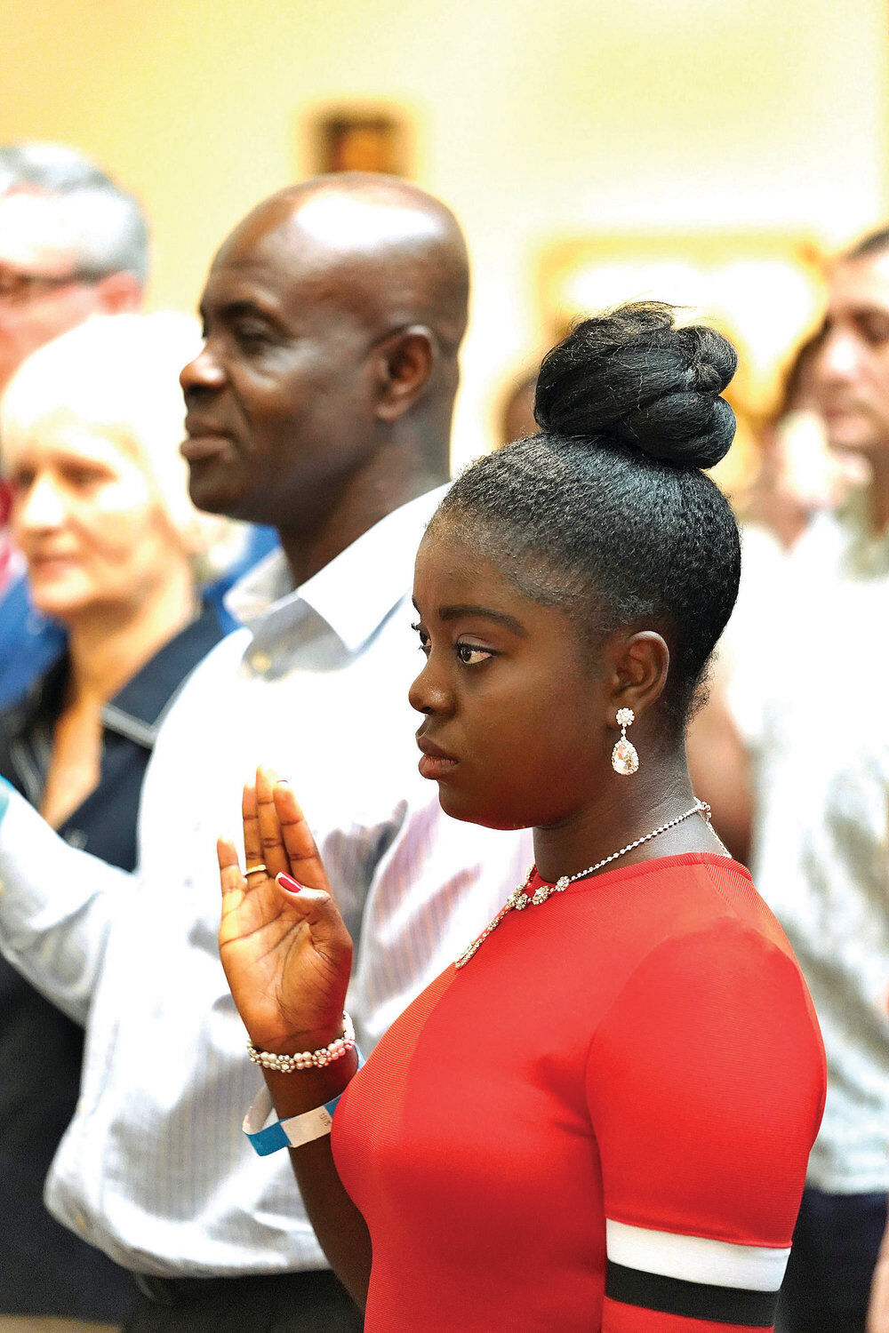 Sentiment at naturalization ceremony in Stockbridge: 'This is my country now'