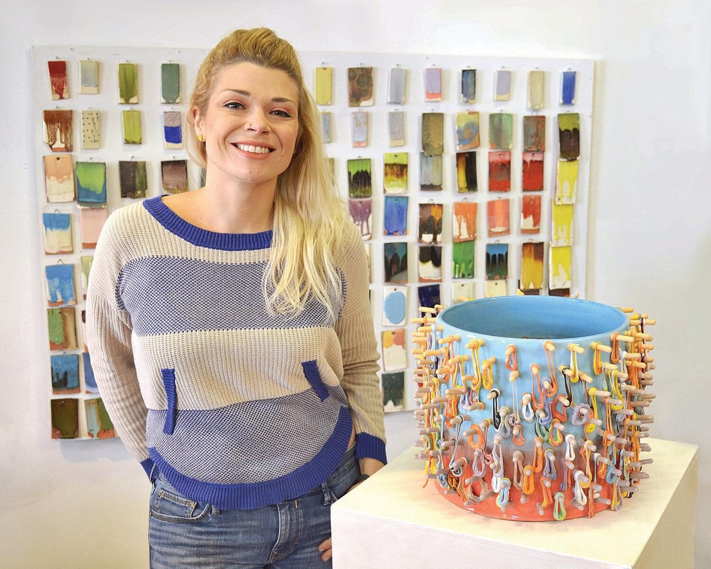 'A rising star in the ceramics world'