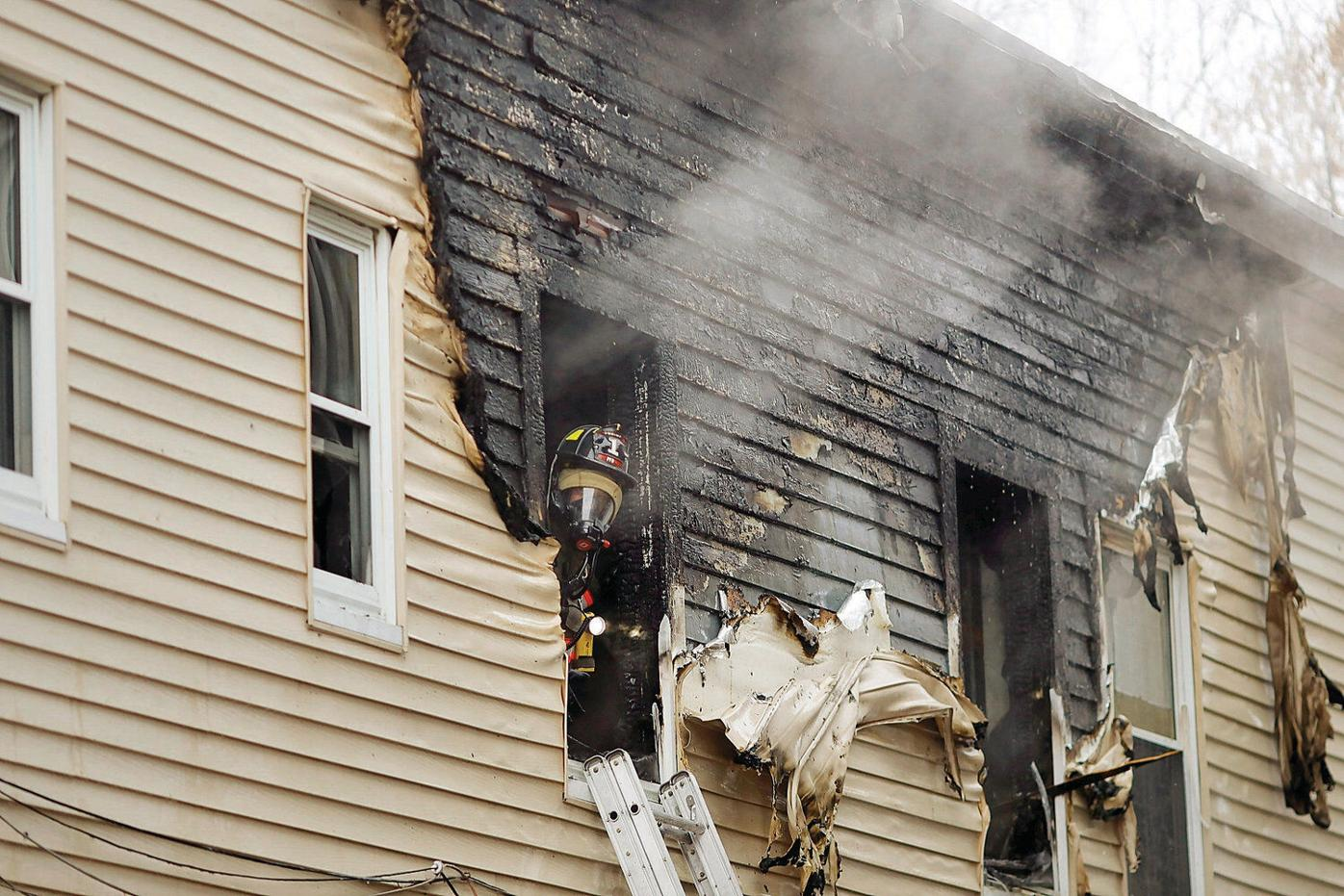 Pittsfield teenager escapes apartment fire, but dog perishes