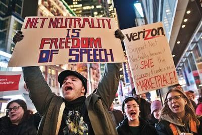 Loss of 'net neutrality' to spark court battle