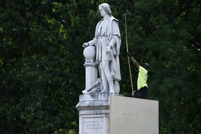 Columbus Statue-Philadelphia