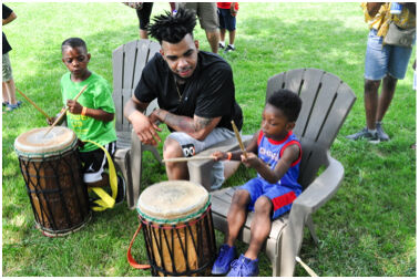 Juneteenth-drumming