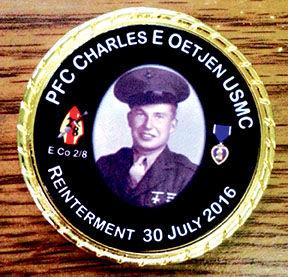 Charles Oetjen medal