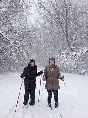 BIA Skiing