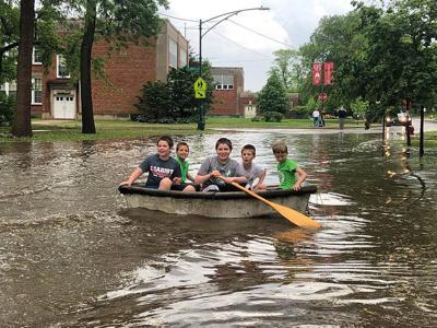 Memorial Day flooding