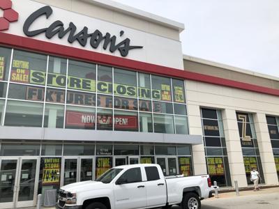 carsons closing