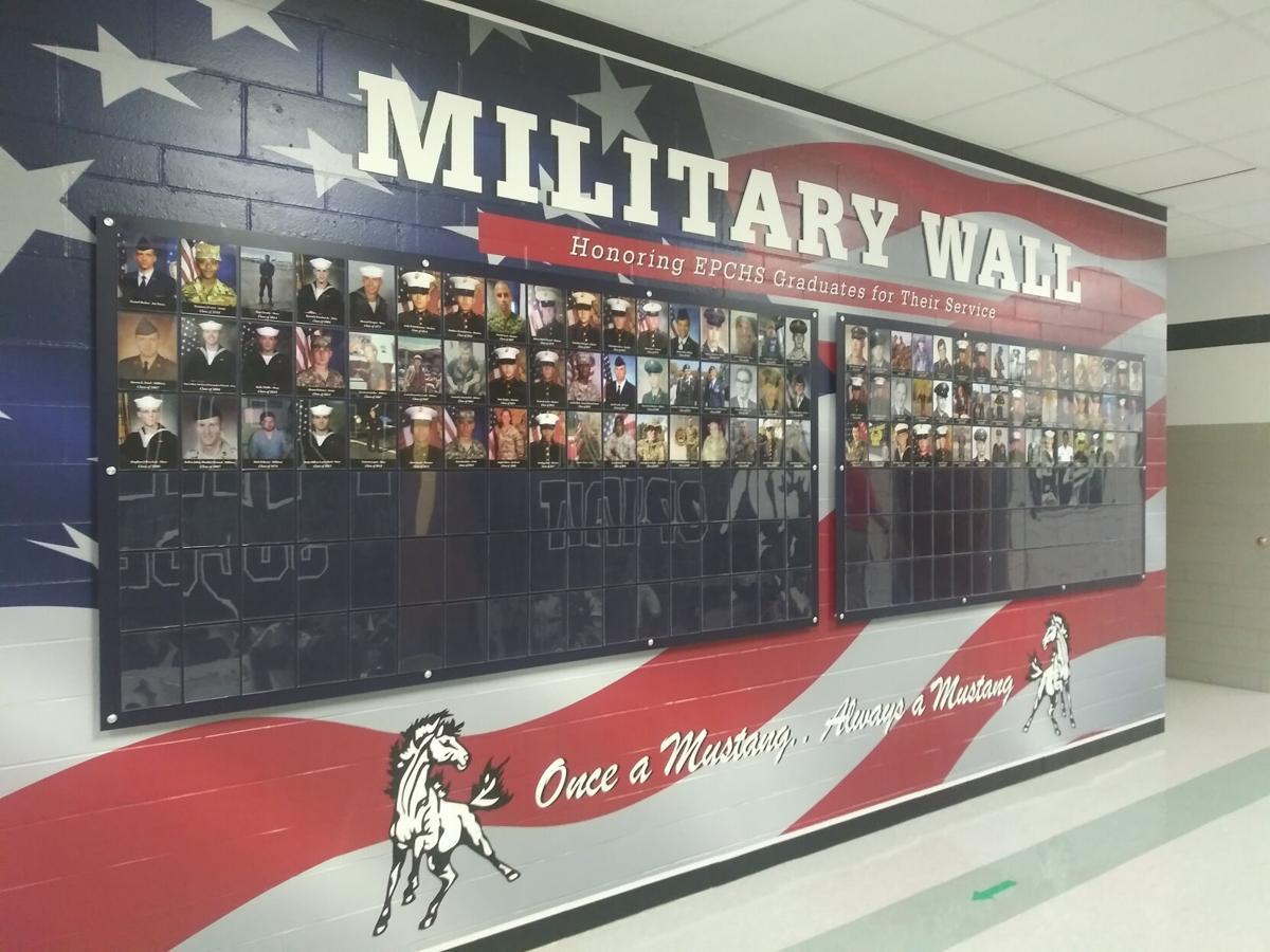 EPCHS Military Wall