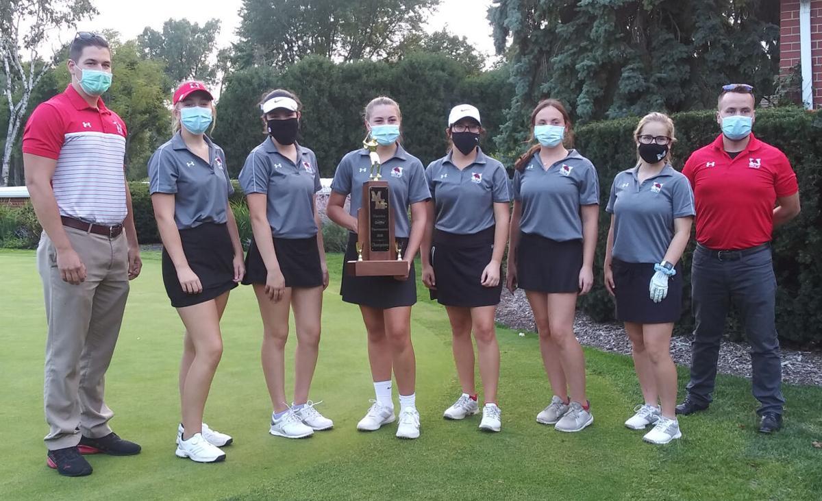 Caroline Griffin Golf tournament-Marist team