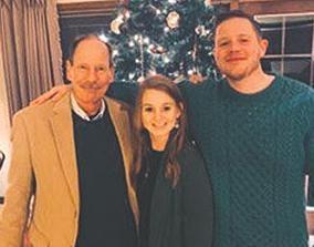 Daniel, Mary and Tim Duffy