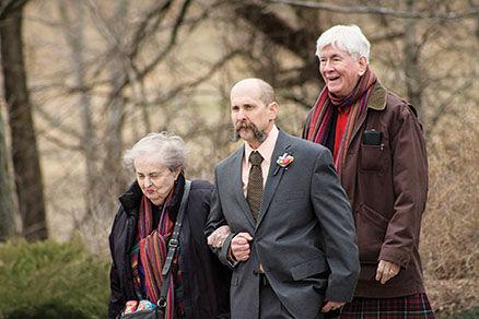 Martha Herriot Swift, son John and husband Dean Miller