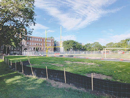 Mt. Carmel stadium renovations
