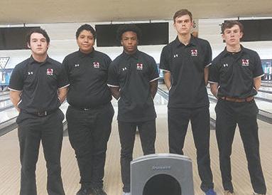 The Marist bowling team