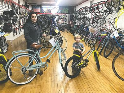 Christmas Without Cancer bike contest