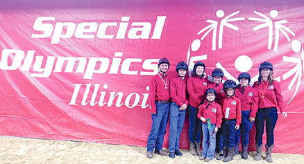 Holistic Riding Equestrian Therapy (HRET) Special Olympics athletes