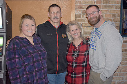 CPD Dan Hooker and family