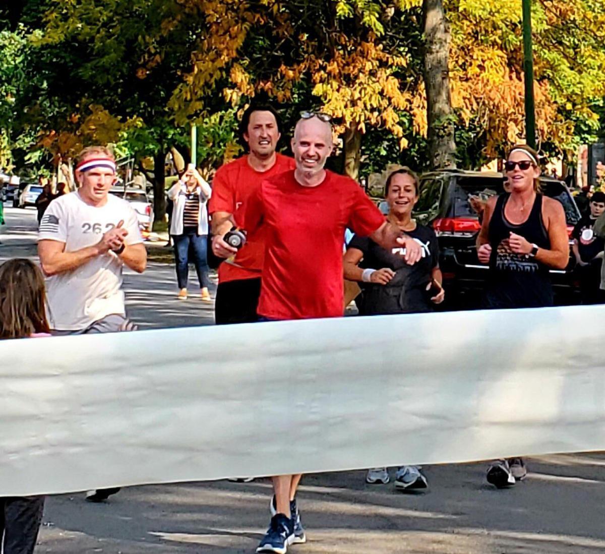 Brendan Cunningham marathon