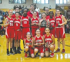St Barnabas 7th grade girls basketball
