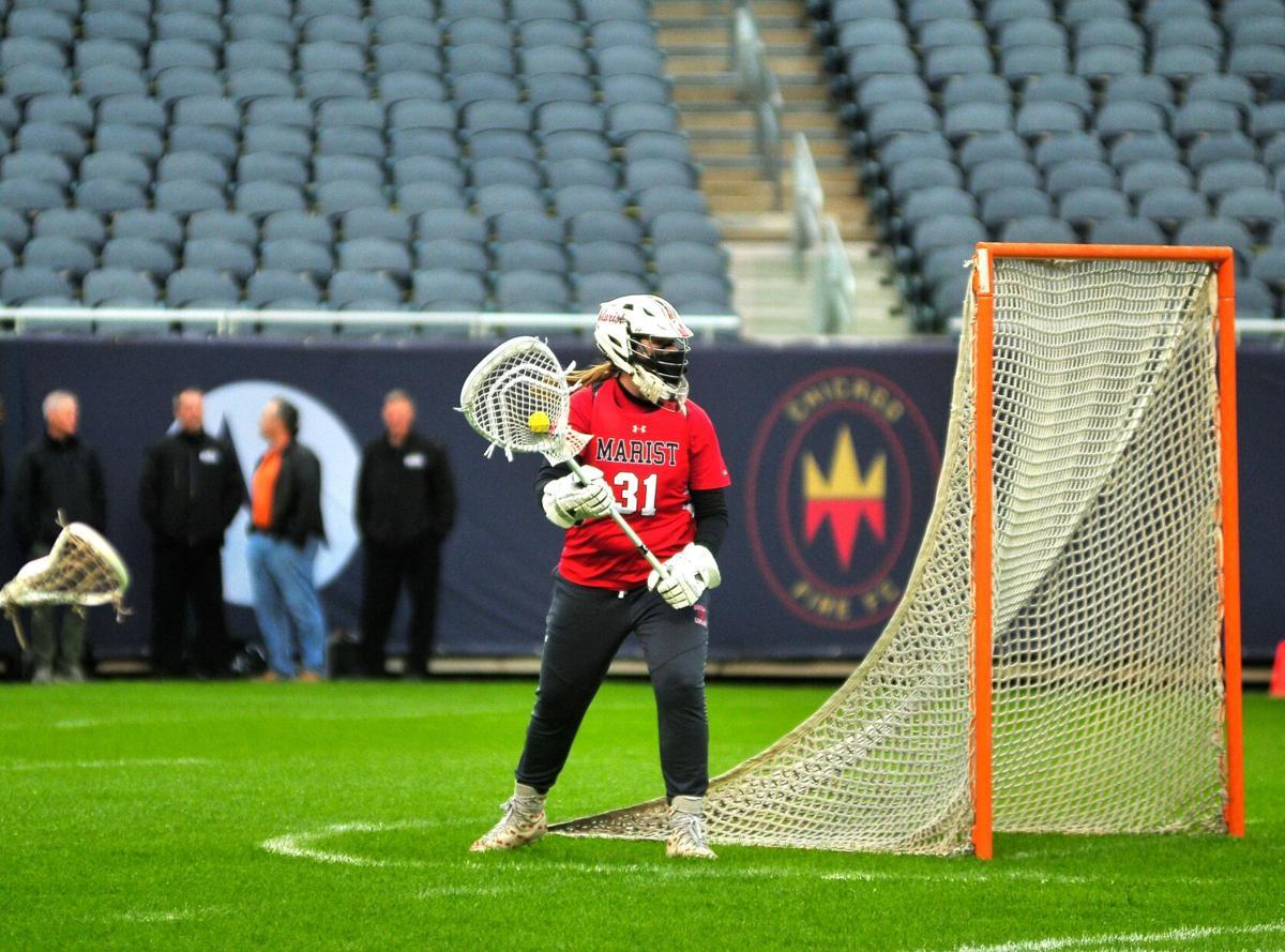 Marist goalkeeper Maddie Drebing
