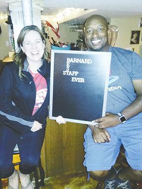 Barnard Staff Party
