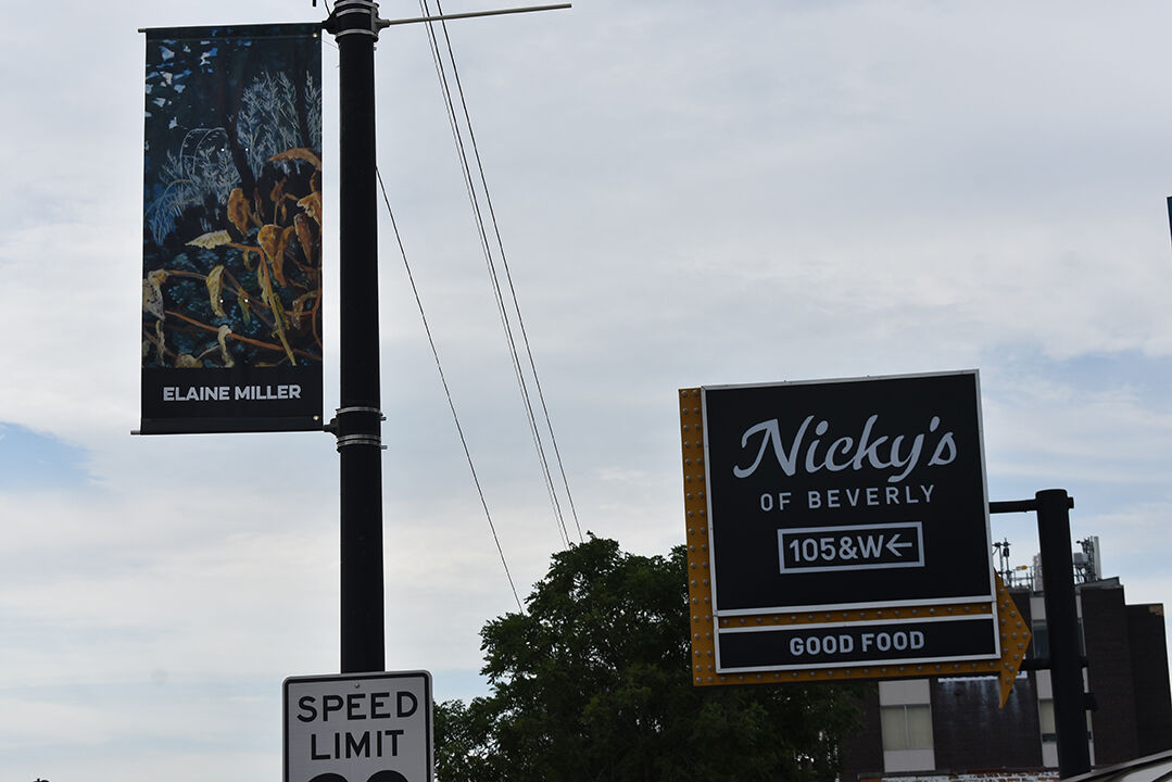 art walk preview Miller banner Nickys