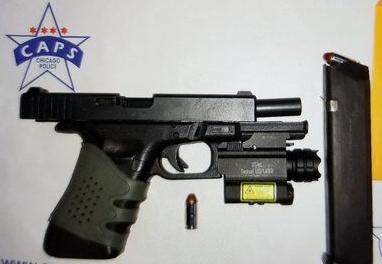 teen gun arrest