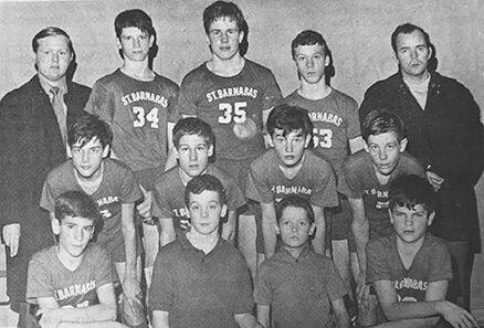 Barnabas Basketball 1970