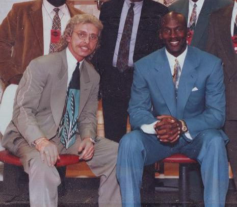 John Wozniak and Michael Jordan