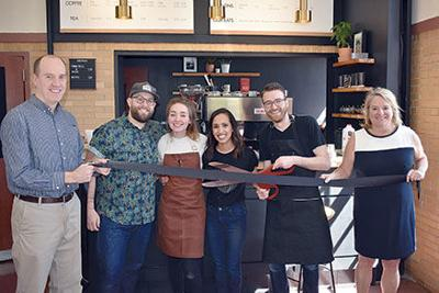 two mile coffee bar opens