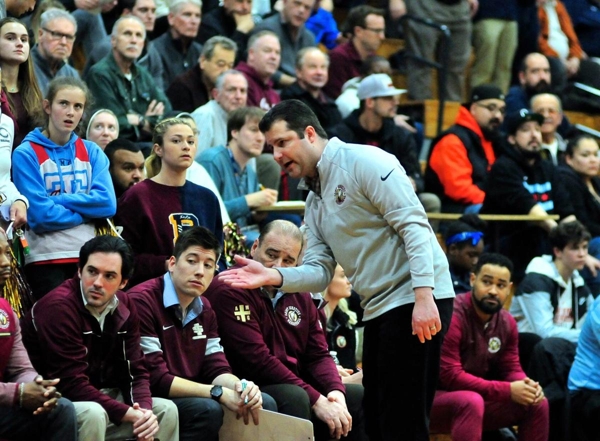 St. Ignatius Coach Matt Monroe