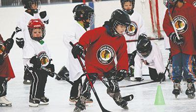 Blackhawks free Hockey Clinics