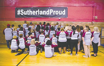 Sutherland teachers back