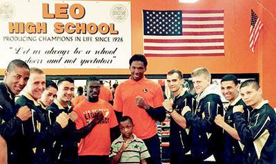 United States Military Academy boxing team from West Point