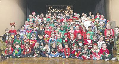 MG elementary ugly sweater