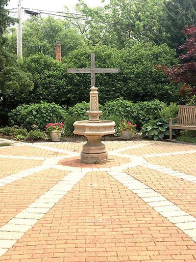 Baptismal Garden at Bethlehem Lutheran Church