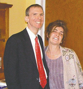 Corina Turcinovic and U.S. Rep. Dan Lipinski