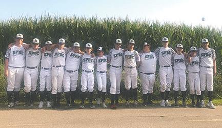 The Evergreen Park Boys Club 13U team