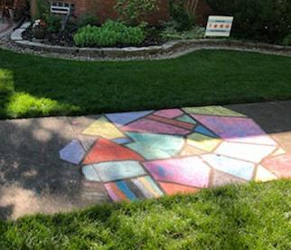 sidewalk art-9000 Claremont