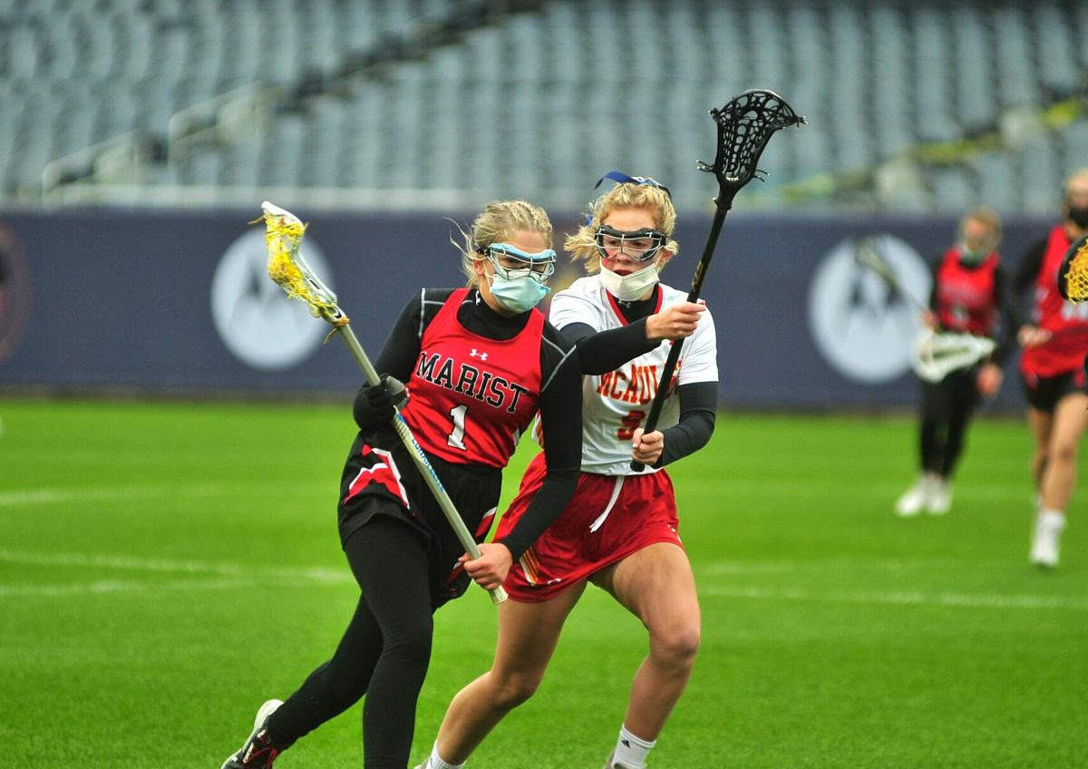 Marist vs. Mother McAuley lacrosse at Soldier Field