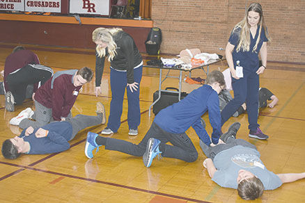 Brother Rice Stop the Bleed