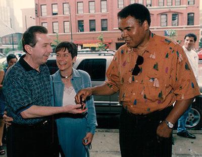 Joe and Jean Phelan and Muhammad Ali