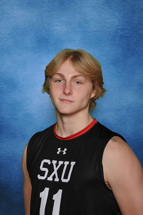 SXU volleyball Shane Ooms