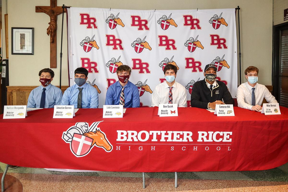 Brother Rice baseball Signing Day 2020