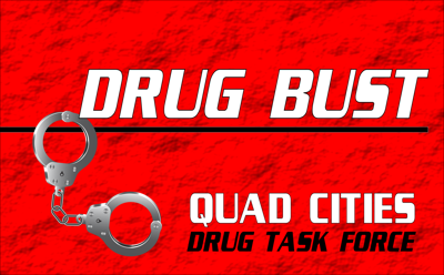 Quad Cities Drug Task Force Bust