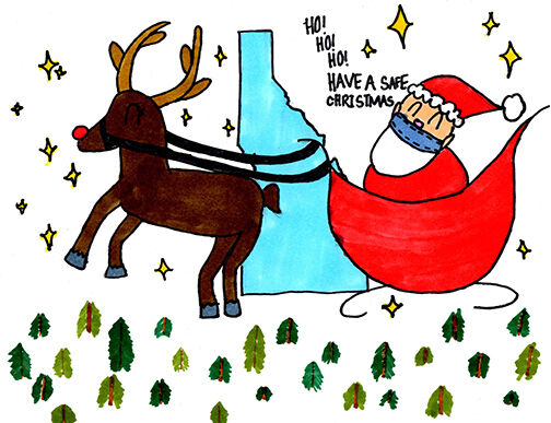 2020 SDE Holiday Card Contest Overall Winner
